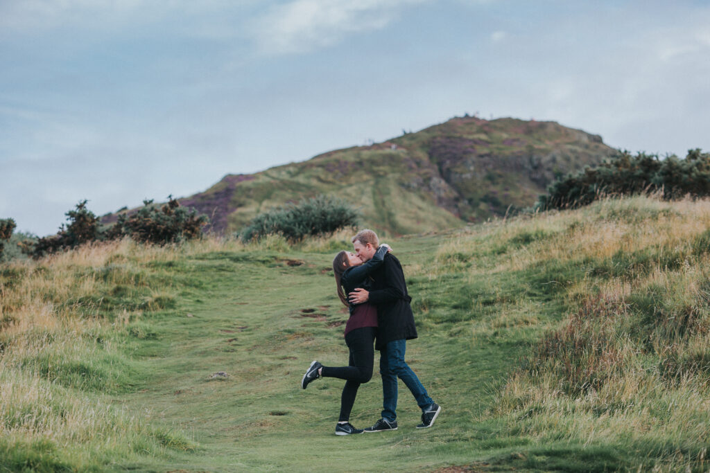 Engagement session, Dee and Steven – Engagement Session Edinburgh