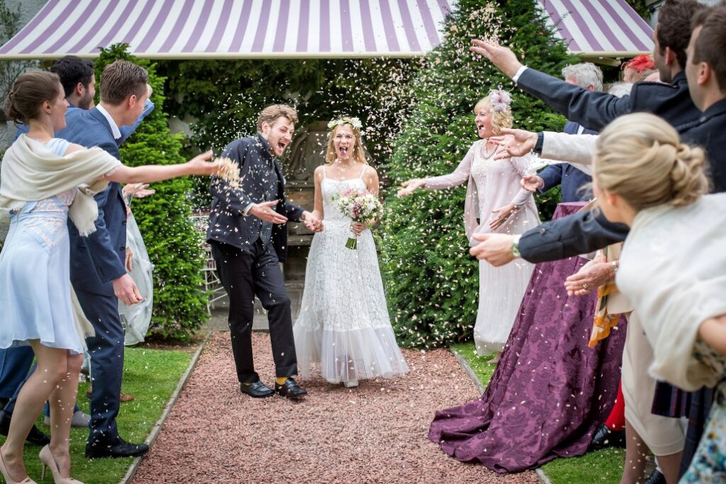 Prestonfield house wedding photography