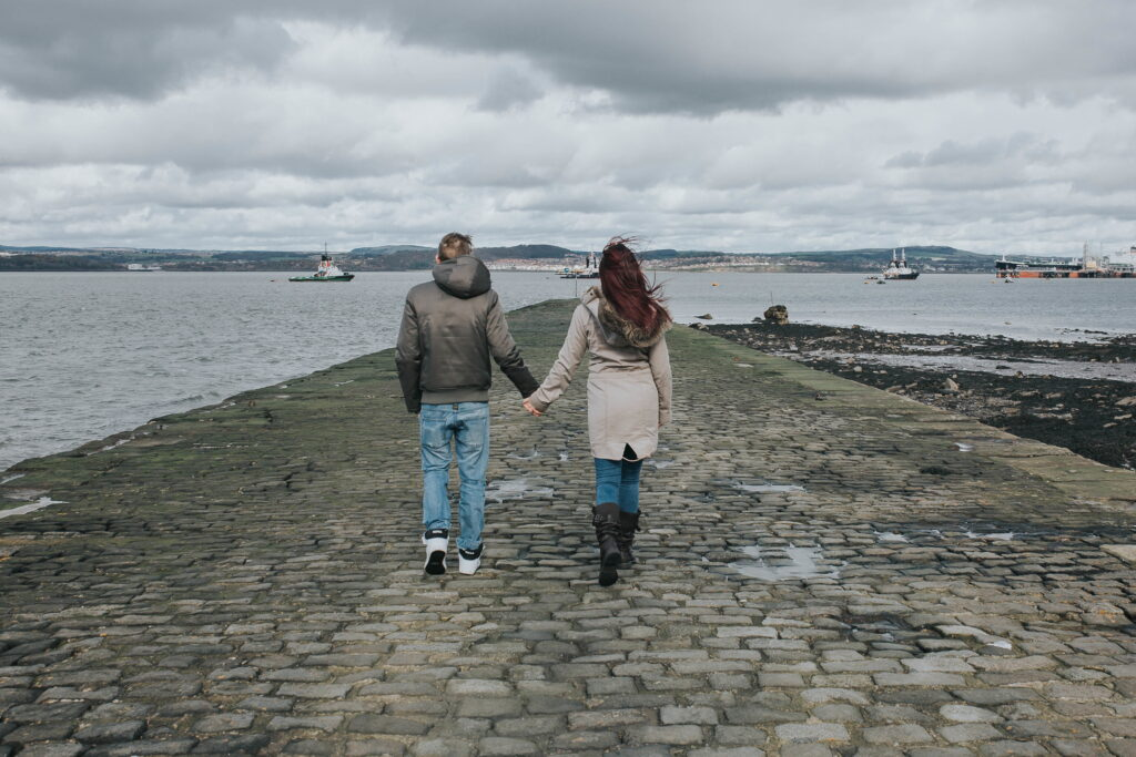Engagement session South Queensferry, Engagement Session South Queensferry – Neil and Kirsty