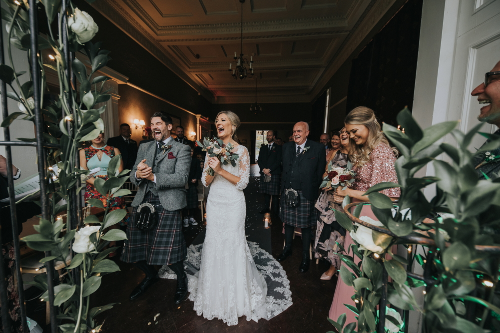 Kirkhill Mansion wedding photography