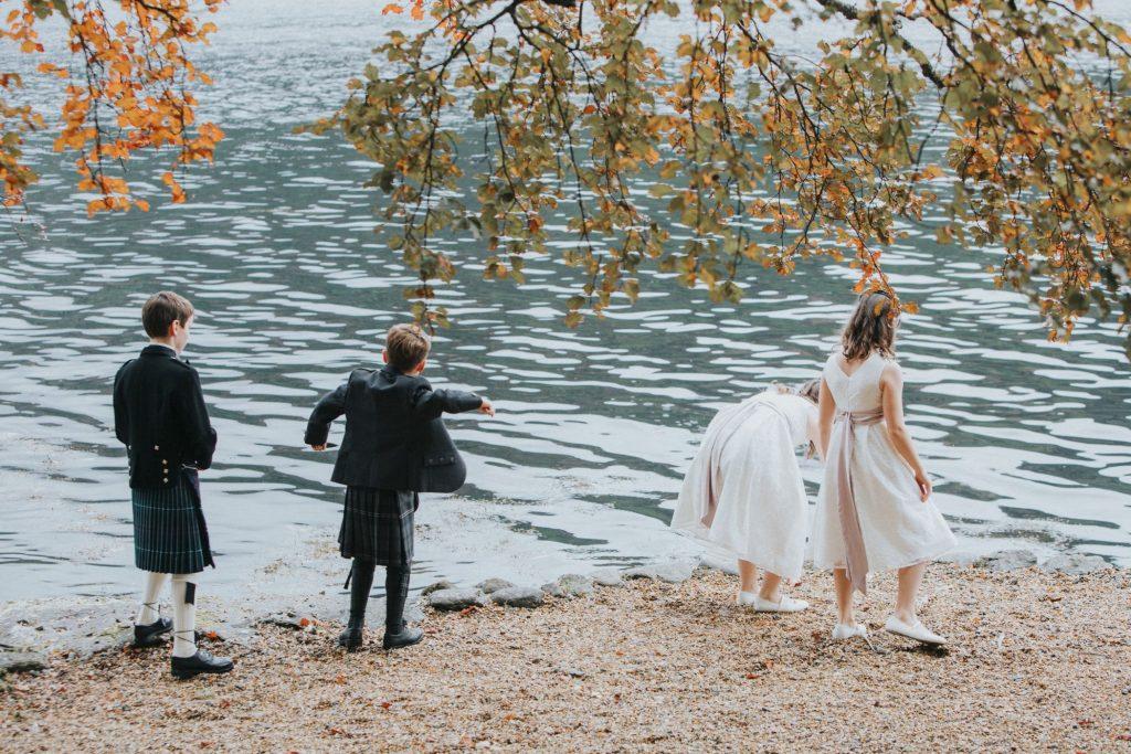 Lodge on loch goil wedding, Sarah and Adam – Lodge on Loch Goil Wedding