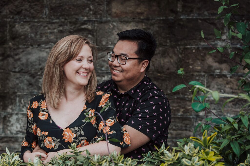 Leith Engagement Session, Michelle and Wis – Leith Engagement Session