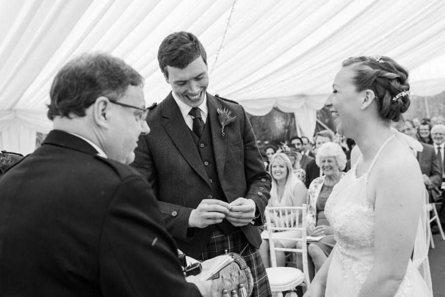 DIY wedding Edinburgh, DIY wedding Edinburgh – Naivasha and Gus