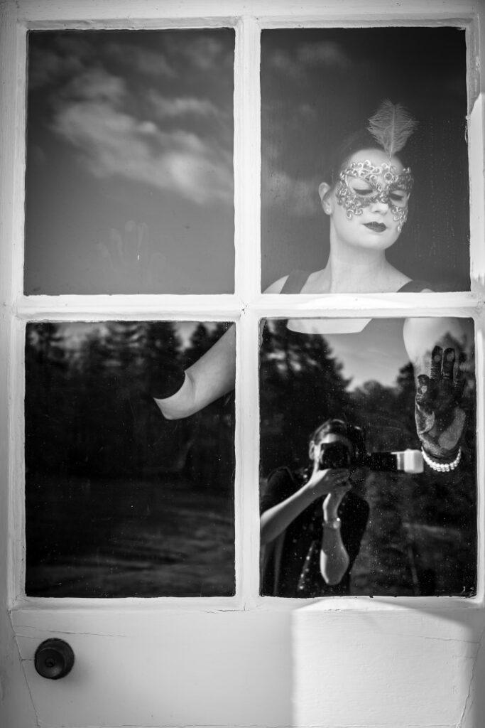 Alternative Photography Dalhousie Castle, Alternative Photography Dalhousie Castle – Raven