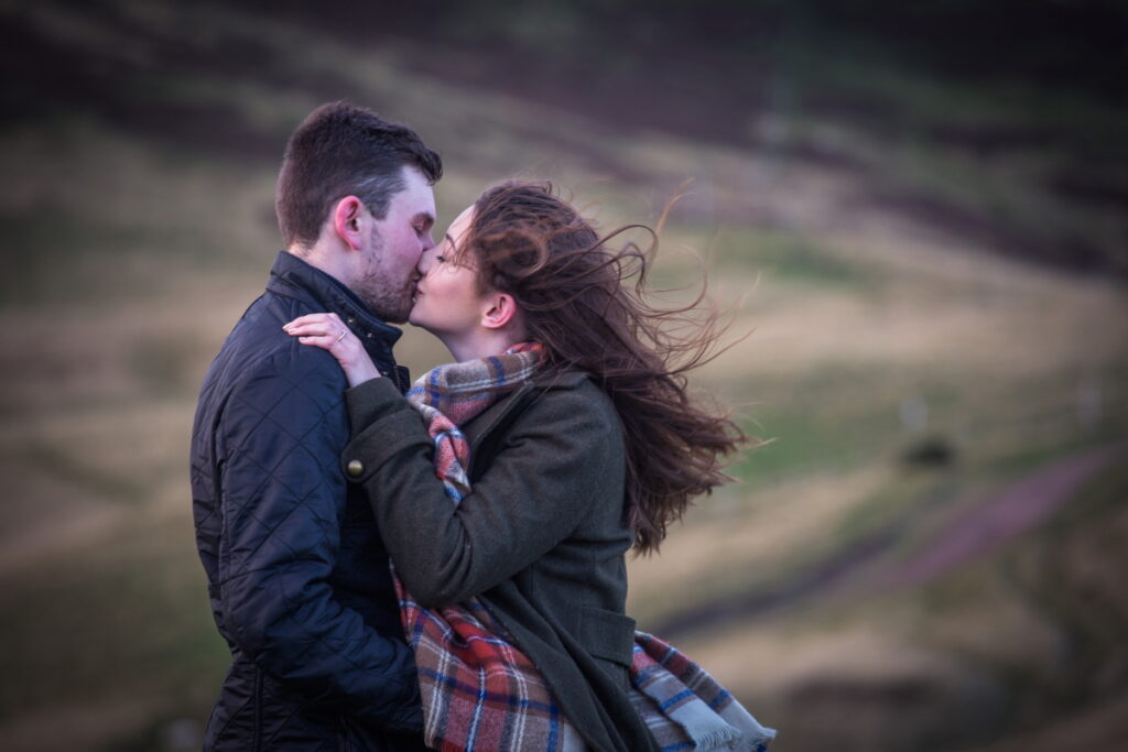 Scottish Pentlands Engagement Session, Scottish Pentlands Engagement Session – Susan and Grant