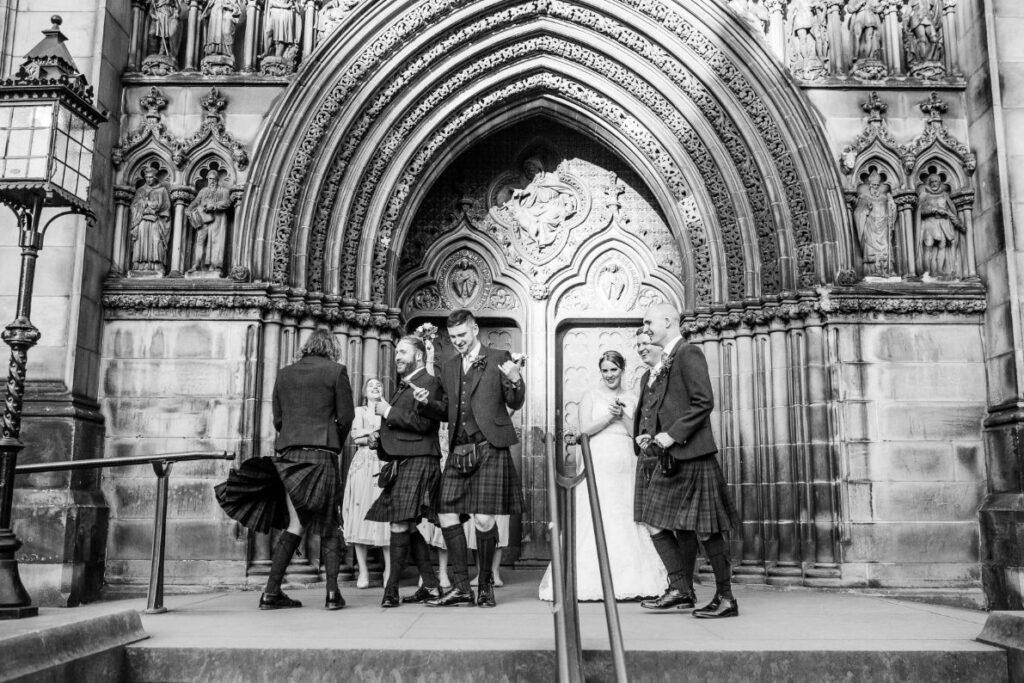 Signet Library Wedding Edinburgh, Jess and Adam – Signet Library Wedding Edinburgh