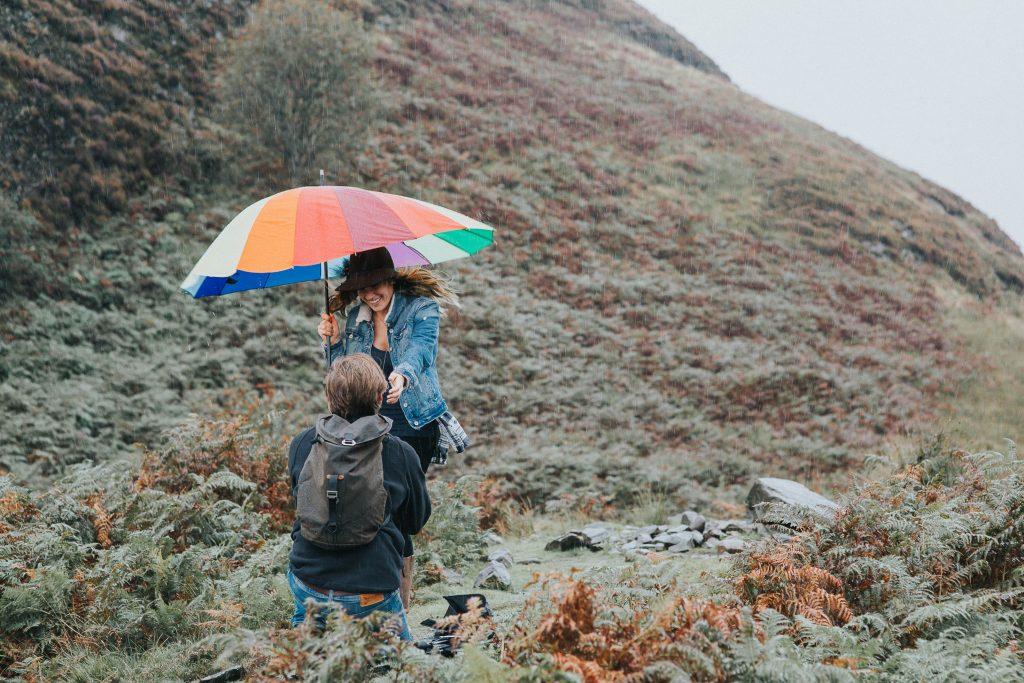 surprise-proposal-engagement-session-conic-hill-loch-lomond, Surprise Proposal and Engagement Session at Conic Hill, Loch Lomond