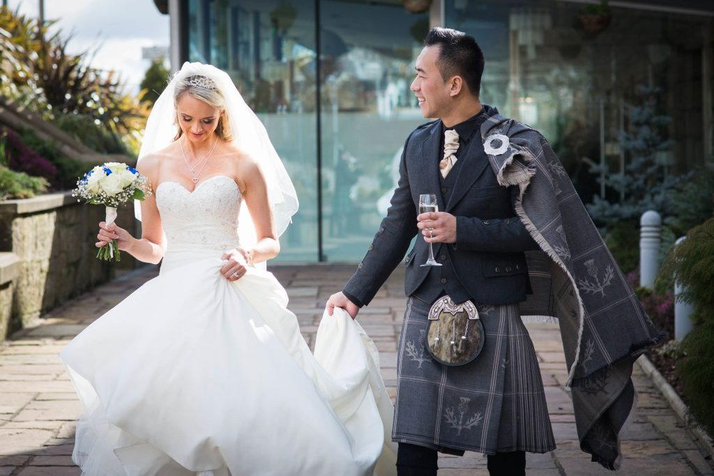 Torrance Hotel Glasgow Wedding Photography