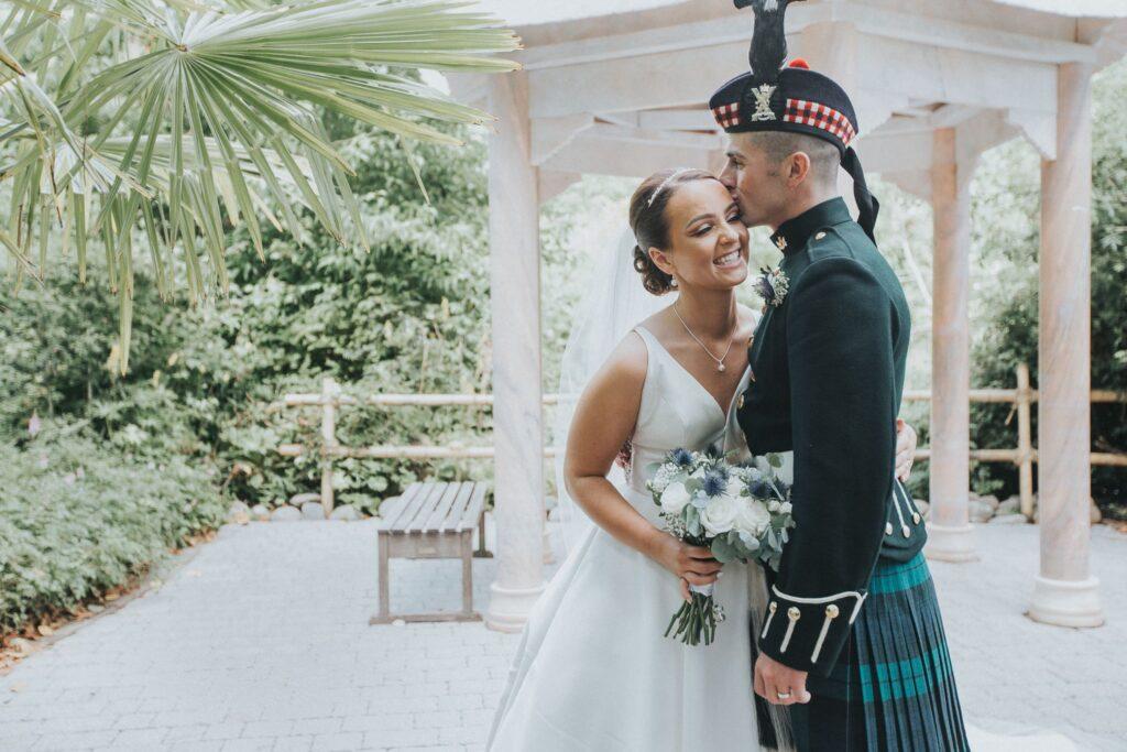 botanic garden edinburgh wedding
