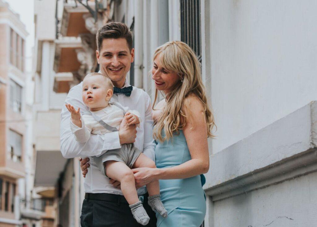 Valencia Family Photographer, Leo's Baptism – Valencia Family Photographer
