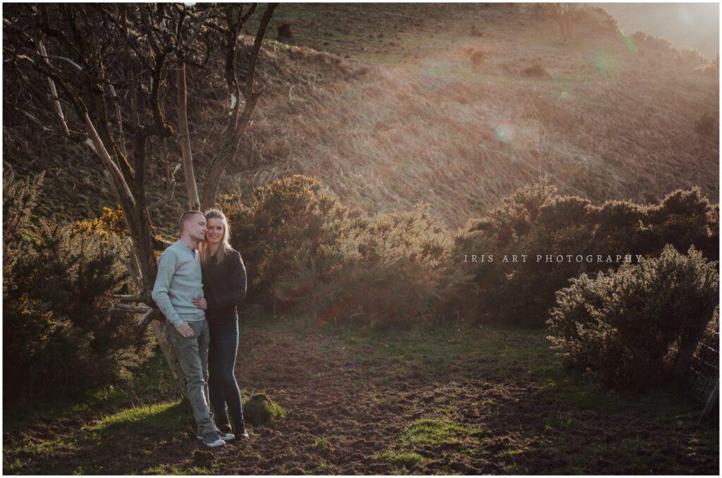 Pentland Hills Engagement Session, Emma and Dale – Pentland Hills Engagement Session
