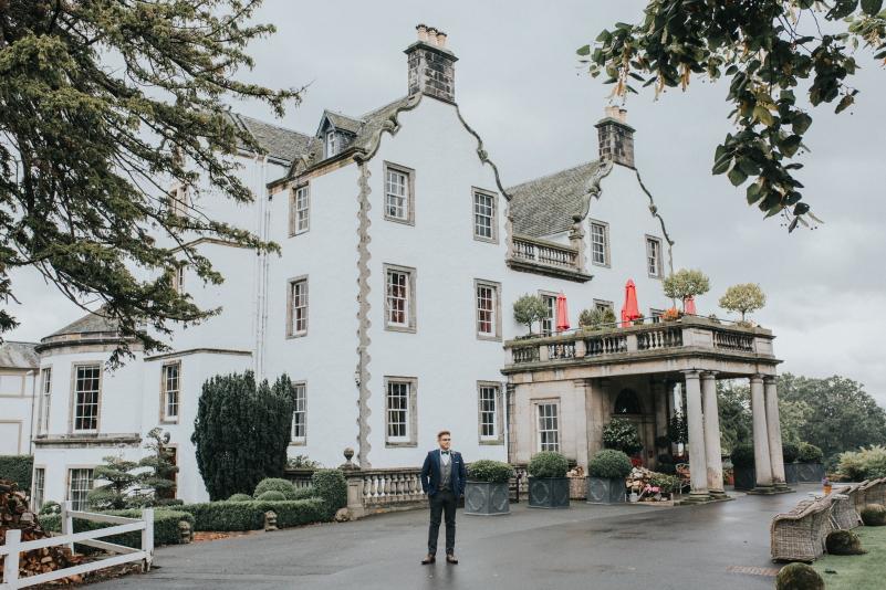 Prestofield House Hotel Elopement, Prestofield House Hotel Elopement – Emer and Jonny