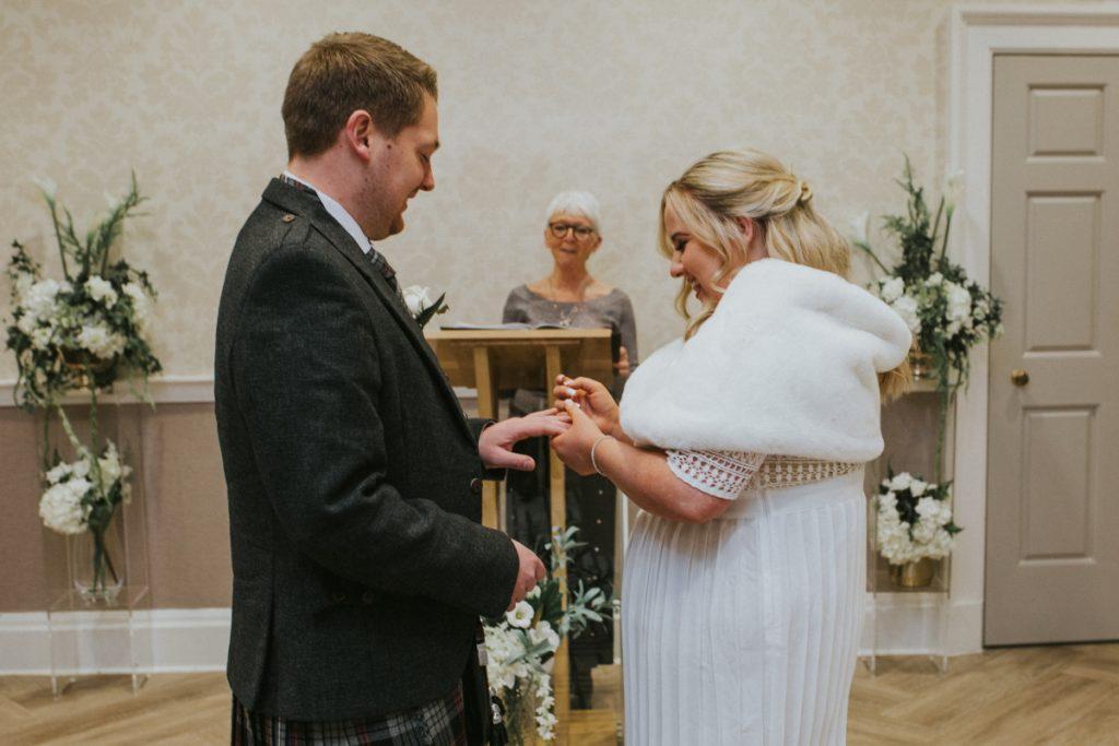 first kiss wedding edinburgh