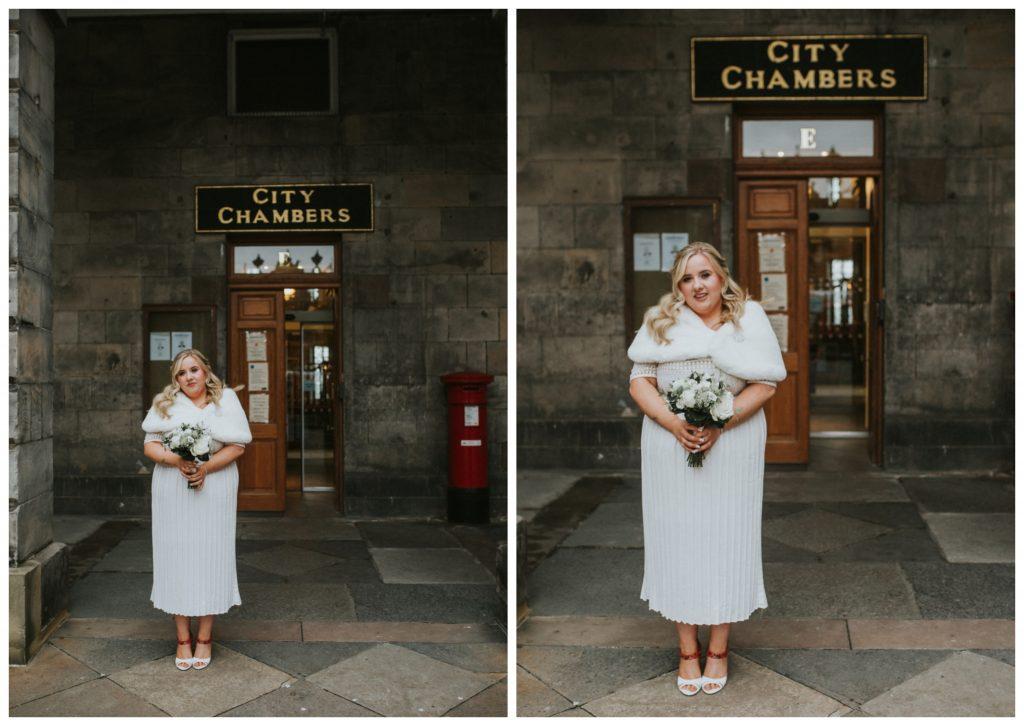 Bridal dress asos