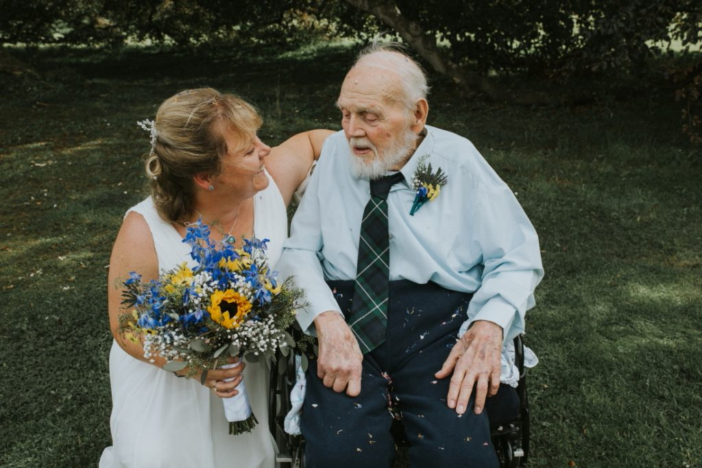 bride and father of the bride moments