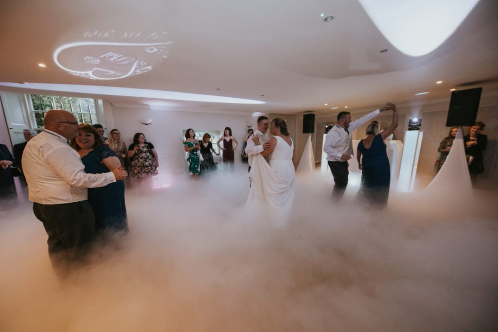 first dance fog mist edinburgh