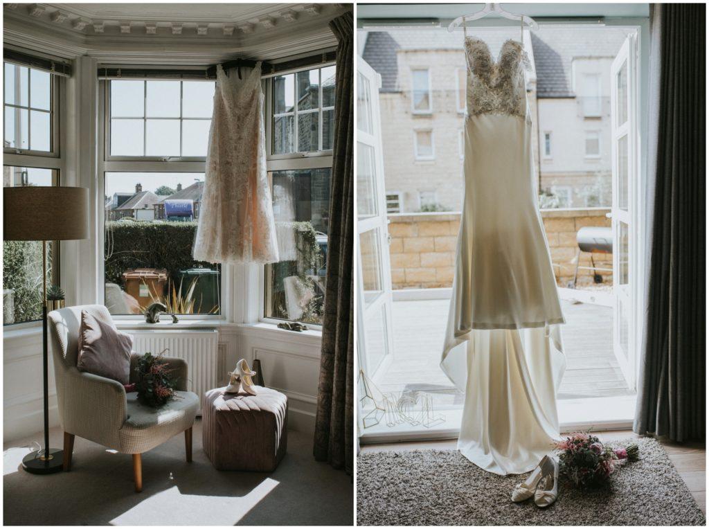 wedding dress wedding preparations