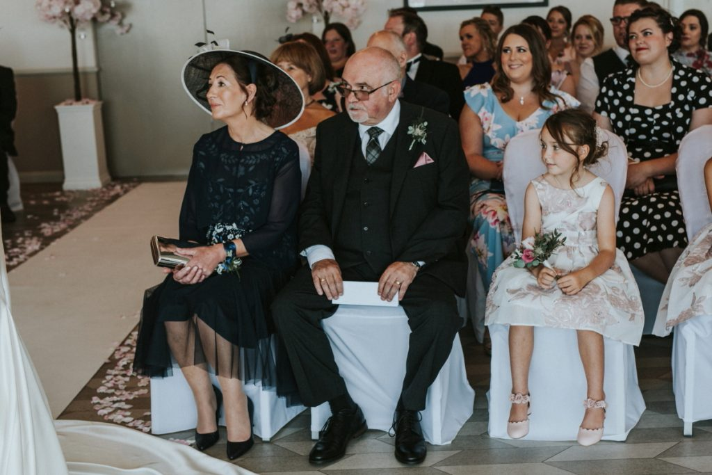 Documentary wedding photographer edinburgh