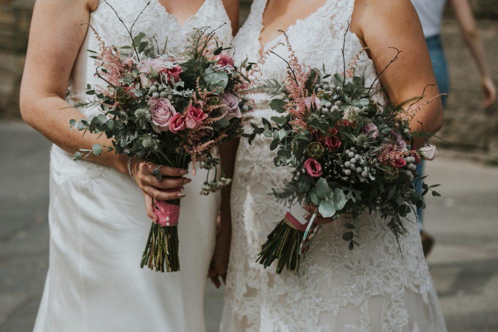 wedding flowers edinburgh photography