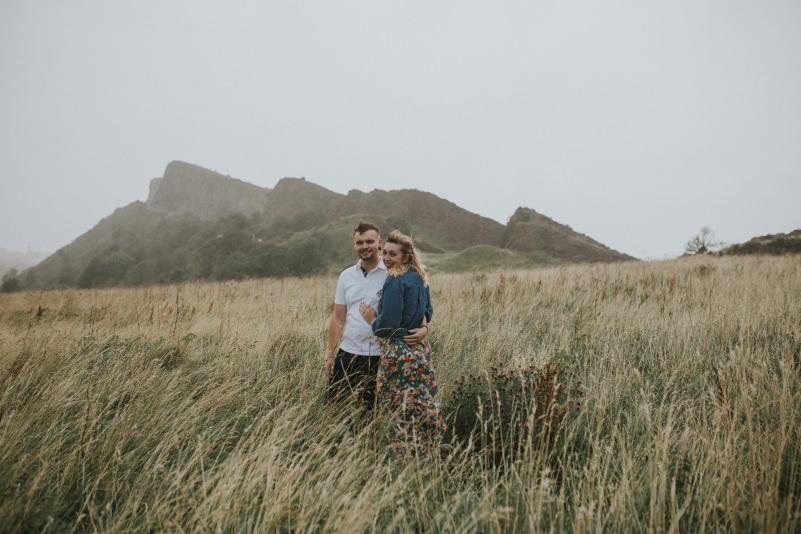 Wedding in highlands